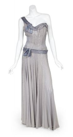 "Costume Worn by Esther Williams as Christine in ""Duchess  of Idaho"" (1950) Designed by Helen Rose"