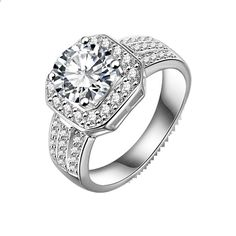 Mia Mi Glam Boutique - Round Swarovski diamond platinum plated ring, $48.00 (http://www.miamiglamboutique.com/round-swarovski-diamond-platinum-plated-ring/)