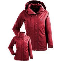 Antigua Detroit Red Wings Ladies Trek Jacket - Red