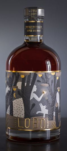 Packaging Design Lobo Apple Brandy Your Mattress Can Make Or Break You Article Body: A good night's Food Packaging Design, Bottle Packaging, Packaging Design Inspiration, Brand Packaging, Coffee Packaging, Whisky, Whiskey Label, Whiskey Brands, Gin Brands