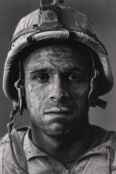 U.S. Marine Gunnery Sergeant Carlos Orjuela (31) by Louie Palu