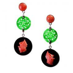 #blackcoral4you ❤ #coral ☮ #black ✌︎ #Pinterest ♕ #easterday ☻#http://www.blackcoral4you.kingeshop.com/☺ #hat ✤ #bohemian ☂ #surf ↜ #Spring ➳#jewelry ☯ #gypsy ♁#hobo ♥ #beads ॐ #rapsodia ღ #gems ☀️ #Summer ❀ #street ≫ #style * #stones ❃ #boho ✿Ƹ̵̡Ӝ̵̨̄Ʒ #L I K⧢  Orecchini China