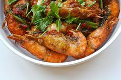 Seasaltwithfood: Prawn In Tamarind And Plum Sauce