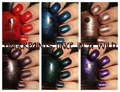 FingerPaints Once In a Wild collection swatches and review