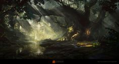trees by WAQAS MALIK | Illustration | 2D | CGSociety