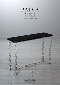Païva Console - Pont des Arts -Designer Monzer Hammoud - Paris