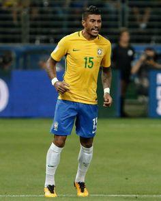 Paulinho Go Brazil, Sports Jersey Design, Most Popular Sports, Euro, Russia, Soccer, Football, Running, Stars