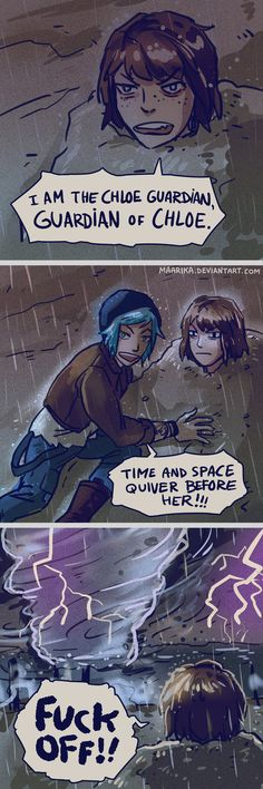 Life is Strange - Guardian of Chloe parody by Maarika