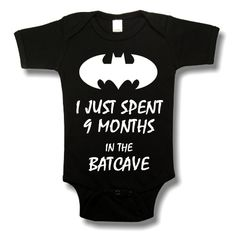 Hey, I found this really awesome Etsy listing at https://www.etsy.com/listing/163607388/batcave-baby-onesie