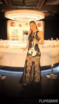 Elsa Electric Violinist super #performance for #designweek @elsamartignoni the best violinist in #milano #europe design #top always!