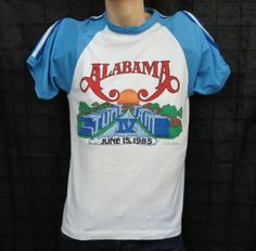 Vintage 1985 Alabama June Jam IV Tshirt
