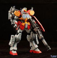 MG Gundam HeavyArms Custom: Painted Build.