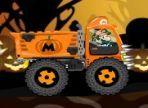 Super Mario è stato chiamato dal sindaco di un paese, per distruggere gli zombie che stanno spaventando la gente, il giorno di Halloween. Con un trattore a disposizione, aiutalo!