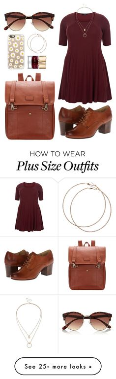 """Throwback (Plus Size Looks)"" by msdanvers on Polyvore featuring Sole Society…"