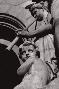 statue Opera Garnier Paris by vindadamona