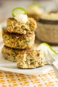 These Cauliflower Fritters pack some serious flavor and nutrients under their hood. A guaranteed winner at the dinner table for kids and adults alike!