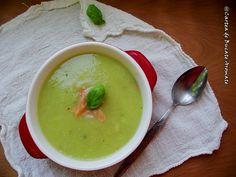 Supă-cremă de dovlecei cu somon afumat Ethnic Recipes