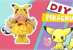 DIY Muñeca Rusa Pikachu de Fieltro Doll Dress Patterns, Clothing Patterns, Diy Russian Dolls, Pikachu Pikachu, Patron Crochet, Dog Crafts, Soft Dolls, Felt Toys, Crochet Dolls