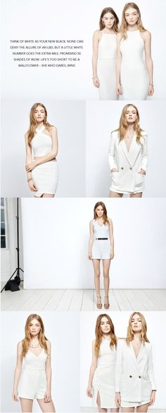 White Out 3 White Out, Miss Selfridge, Asos, Shopping, Collection