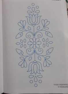 Peacock Embroidery Designs, Border Embroidery Designs, Floral Embroidery Patterns, Hand Embroidery Stitches, Applique Designs, Beginner Henna Designs, Paisley Art, Ribbon Embroidery Tutorial, Wreath Drawing