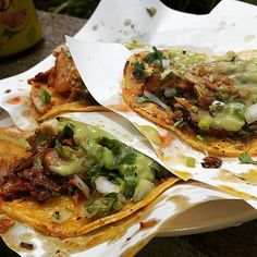 A tasty mess! #FoodieFriday  Are you ready for some #Tijuana tacos this weekend?   -Adventure by mss_neza_sj