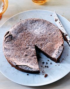 Chocolate Hazelnut Torte Recipe at Epicurious.com    Naturally gluten-free!