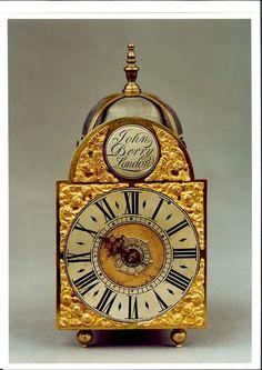 A charming George II lantern timepiece (c. 1730 England)