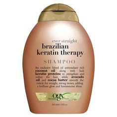 OGX Ever Straight Brazilian Keratin Therapy Shampoo - 13 fl oz