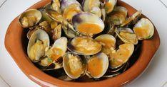Almejas a la marinera, una comida clásica y tradicional de nuestra gastronomía.
