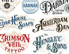 """Check out this @Behance project: """"Collection of hand-drawn Logotypes from 2016"""" https://www.behance.net/gallery/43986679/Collection-of-hand-drawn-Logotypes-from-2016"""