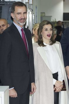 Queen Letizia of Spain Photos Photos - King Felipe VI of Spain and Queen Letizia of Spain visit Zeta Group on its 40th anniversary on December 12, 2016 in Madrid, Spain. - Spanish Royals Visit Zeta Group on Its 40th Anniversary