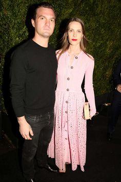 Max Snow and Vanessa Traina Snow in Chanel