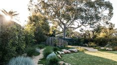 This Woolooware garden from Grant Boyle came with a strong brief to maximise native plant life and some inventive upcycling. Australian Architecture, Australian Homes, Australian Beach, Garden Landscape Design, Garden Landscaping, Fence Garden, Landscaping Ideas, Garden Pots, Coastal Gardens