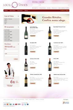 Website para Local do Vinhos