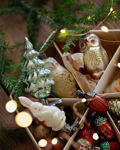 60 Amazing DIY Ornaments for Christmas Woodland Christmas, Old Christmas, Old Fashioned Christmas, Christmas Mood, Vintage Christmas Ornaments, Country Christmas, Christmas Themes, All Things Christmas, Christmas Decorations
