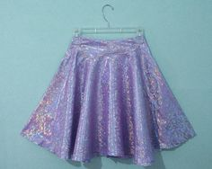 How To: Shimmer Circle Skirt | Viva La DIY via @vivaladiy