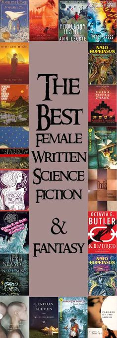 """What are the best Female Written Science Fiction & Fantasy?"" We looked at 276 of the top books, aggregating and ranking them so we could answer that very question!  http://www.bookscrolling.com/the-best-science-fiction-fantasy-books-written-by-women/"