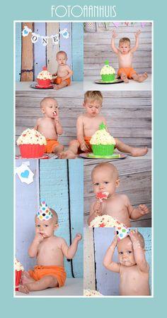 Smash Cake - Fotoshoot bij Fotoaanhuis