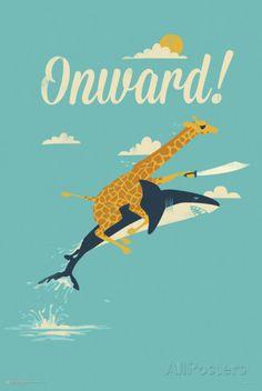 Onward! Photo at AllPosters.com