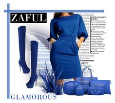 """Zaful 2"" by marinadusanic ❤ liked on Polyvore featuring women's clothing, women's fashion, women, female, woman, misses, juniors and zaful"