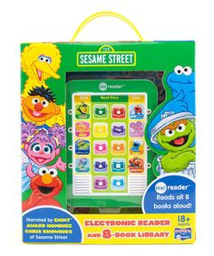 Loving this Sesame Street Eight-Book Me Reader Electronic Book on #zulily! #zulilyfinds