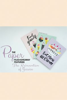 The Paper Files Giveaway with 3twentysix