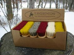 LEGENDS Seasons Peanut-Shaped Face Brush 12pc Display by Desert Equestrian. $61.00. From the Legends Series this brush counter display contains 12 assorted. Each brush is made with a kiln-dried, double-lacquered, peanut-shaped hardwood brush block. Some come with the softest white goat hair or natural Palomino grey soft horsehair and the rest are made with raspberry pink or saffron yellow dyed soft horsehair. The brush head is only about 4 long and the size and shape ma...