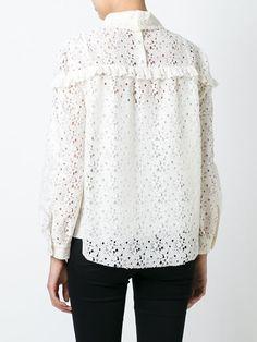 Philosophy Di Lorenzo Serafini macramé blouse