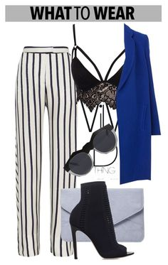 """""""OOTD"""" by dopegeezy ❤ liked on Polyvore featuring Nicholas, Dorothy Perkins, Gianvito Rossi, Club L and Le Specs"""