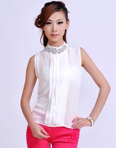 3d1840bf00d62 blusa de cuello alto sin mangas - Buscar con Google