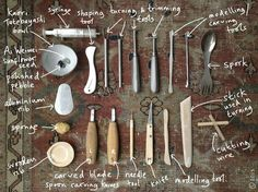 The Best Pottery & Ceramic Tools Collections http://wuuzzz.com/pottery-tools-744