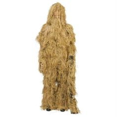 Classic Safari 4pc Dry Grass Ghillie Suit- M/l