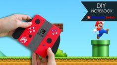 DIY Notebook  Nintendo Switch | Super Mario