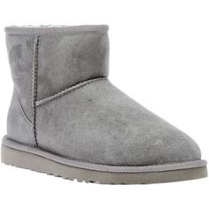 Ugg shearling boot ($223) ❤ liked on Polyvore